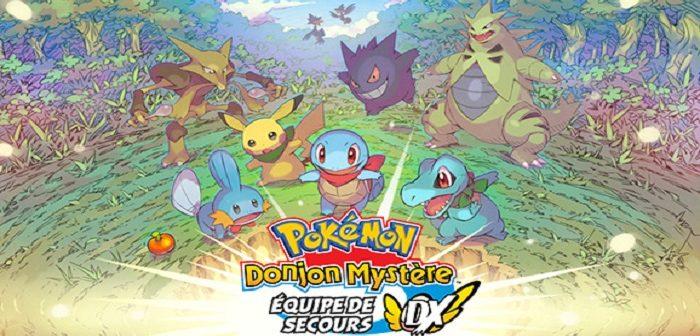 Une démo pour Pokémon Donjon Mystère Équipe de Secours DX
