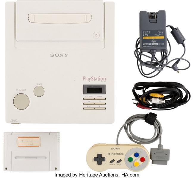 Une rare Nintendo Playstation bientôt aux enchères ! Accessoires