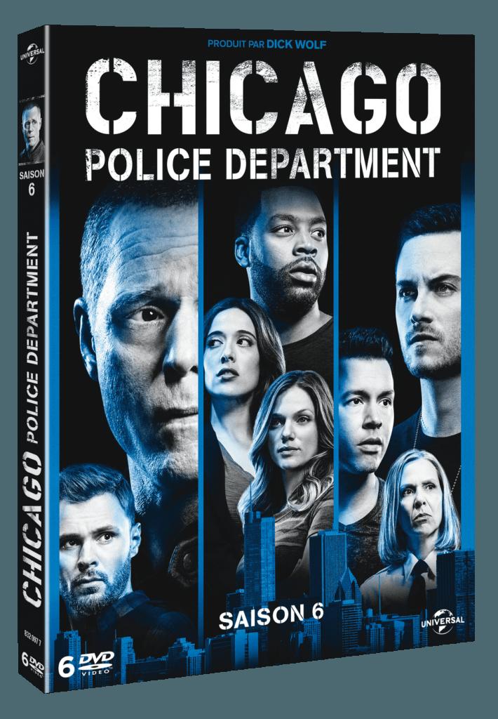 Concours Chicago Police Department Saison 6 2 coffrets 6 DVD à gagner ! jaquette