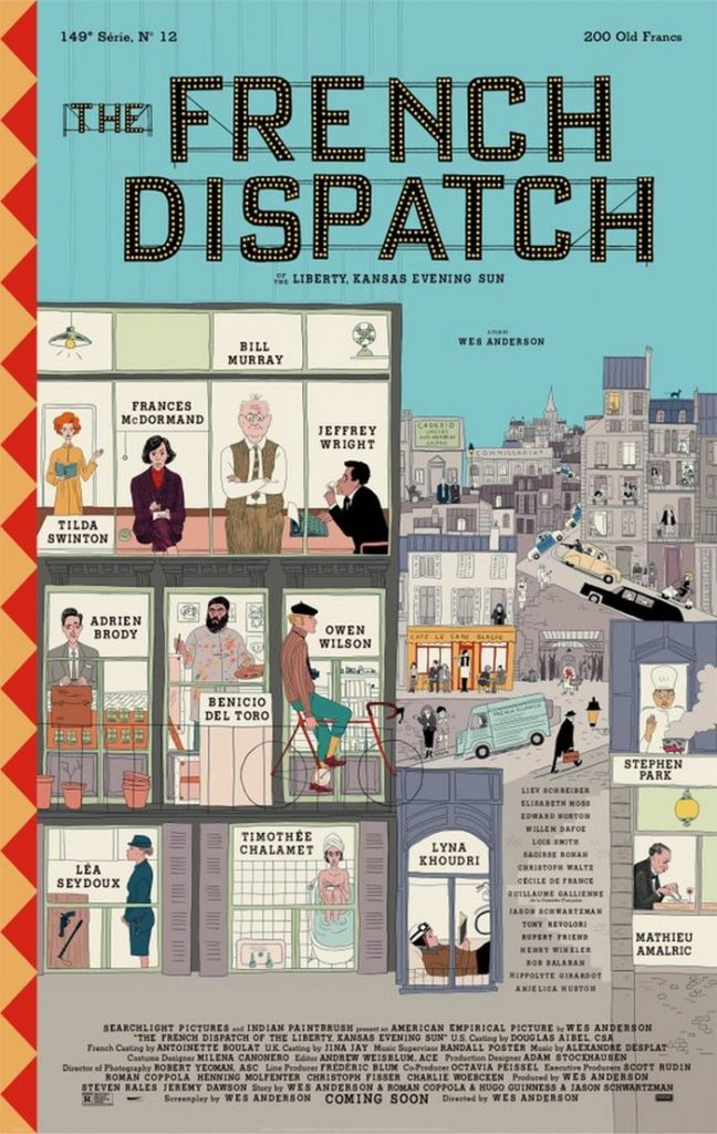 The FrenchDispatch : première bande-annonce sofrenchpour le nouveau Wes Anderson
