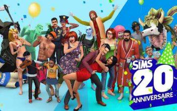 Les Sims 20 ans de Ooboo vroose, baa dooo