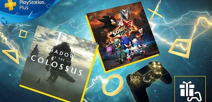 PlayStation Plus mars 2020 Shadow Of The Colossus et Sonic Forces au menu !