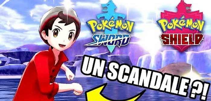 Pokémon Épée et Bouclier un scandale