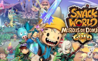 Snack World Mordus de Donjons Gold est bientôt disponible