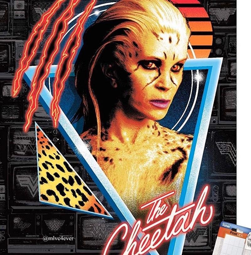 Wonder Woman 1984 : le look de Cheetah fuite (spoilers)