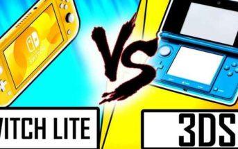 DUEL DE CONSOLES : NINTENDO SWITCH LITE VS 3DS et 2DS