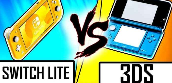 DUEL DE CONSOLES : NINTENDO SWITCH LITE VS 3DS et 2DS
