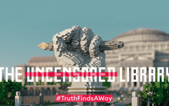 Minecraft héberge une bibliothèque virtuelle anti-censure !