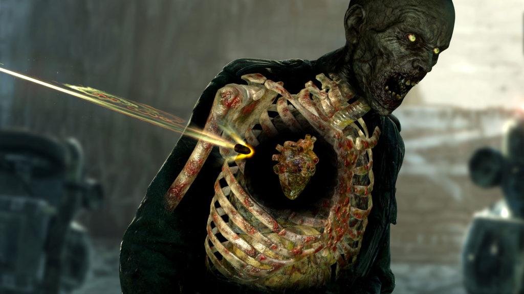 Test Zombie Army 4 – Dead War, charnu et saignant
