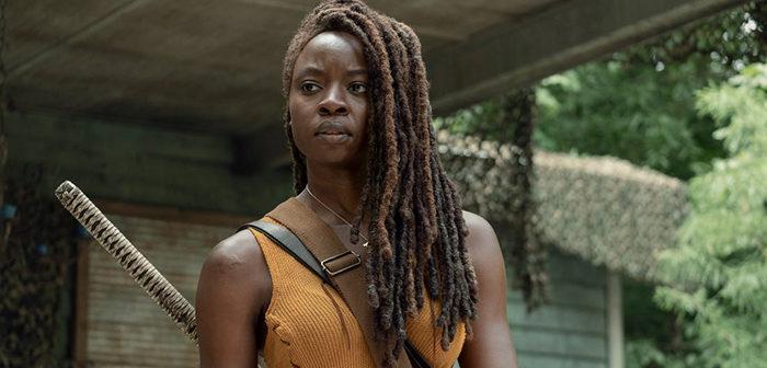 The Walking Dead : Michonne vient de faire ses adieux à la série