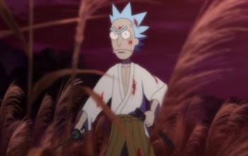 Rick et Morty s'éclatent dans un court-métrage