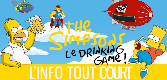 Le Drinking Game Simpson !