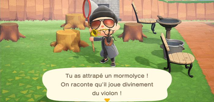 Animal Crossing New Horizons, ces poissons insectes disparaîtront en juillet