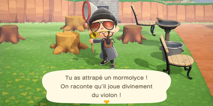 Animal Crossing : New Horizons, ces poissons / insectes disparaîtront en juillet !