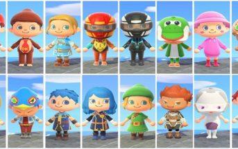 Animal Crossing New Horizons, un fan recréé les combattants de Super Smash Bros