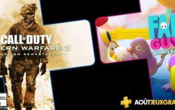 PlayStation Plus les jeux d'août 2020 !