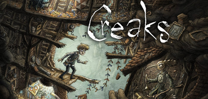 Creaks le nouveau jeu d'Amanita Design est sorti !