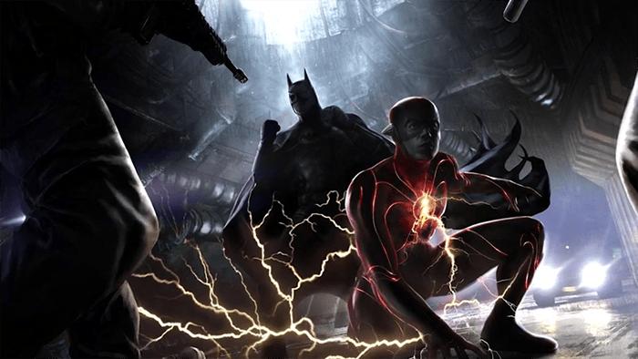[DC Fandome] Flash porte un nouveau costume dans des artworks du film