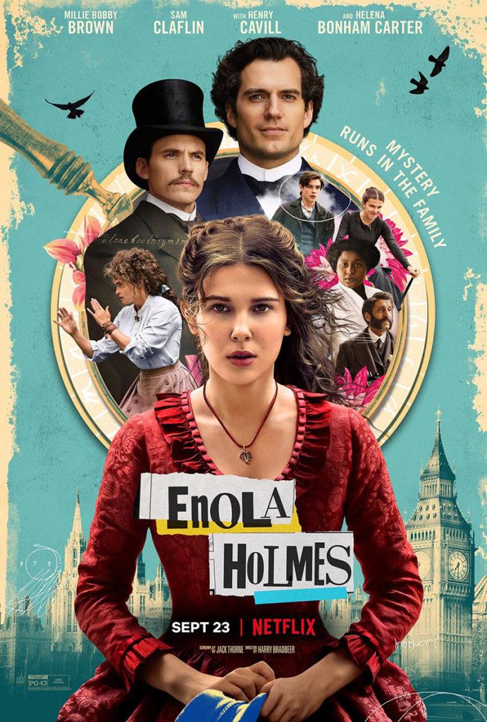 Enola Holmes : affiche et teaser pour l'adaptation de Netflix