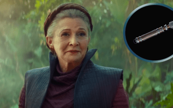 Star Wars L'Ascension de Skywalker : le sabre laser de Leia se dévoile en détail dans un ouvrage