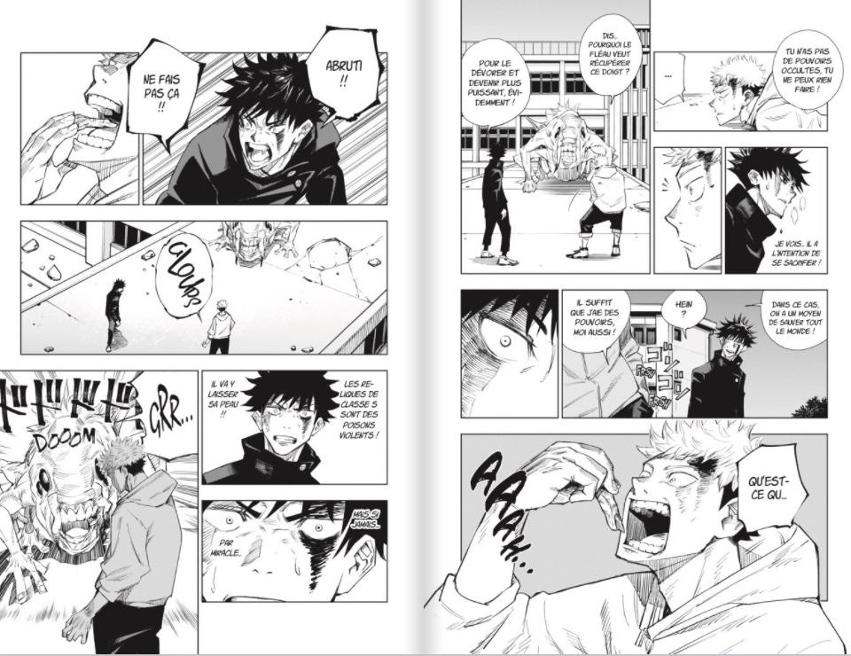 Critique Jujutsu Kaisen T.1 : même pas peur !