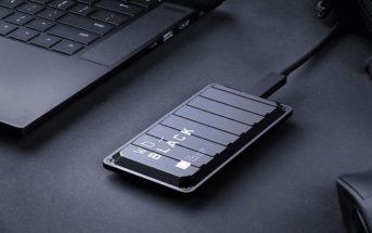 Test WD Black P50 SSD, un disque dur externe rapide comme l'éclair ?