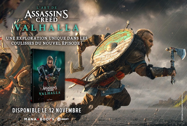 Critique Livre – L'art de Assassin's Creed Valhalla