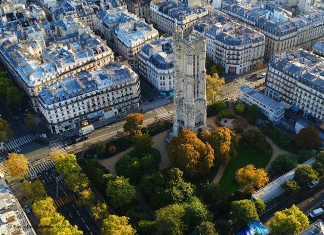 Paris à vol d'oiseau2
