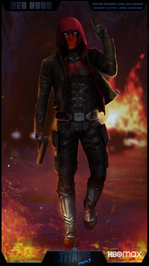 Red Hood se dévoile dans la saison 3 de Titans