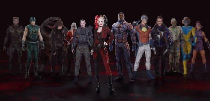 La Suicide Squad de James Gunn s'affiche