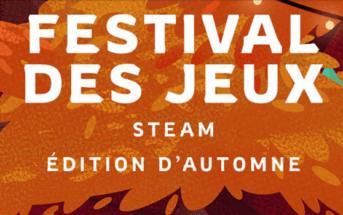 Le festival des jeux d'automne 2020 à débuté sur Steam