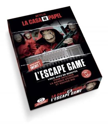 Critique L'escape game - La Casa de Papel