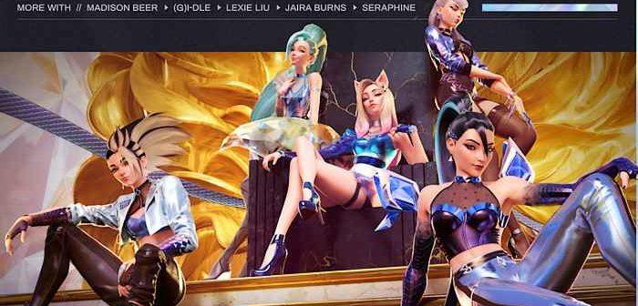 League of Legends : More, K/DA en featuring avec l'influenceuse virtuelle Séraphine