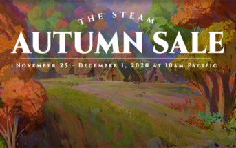 Sur Steam les soldes d'automne sont ouvertes