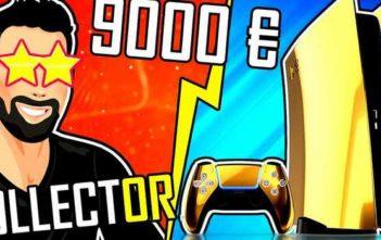 PS5 COLLECTORS : Des Playstation 5 en OR et PLATINE