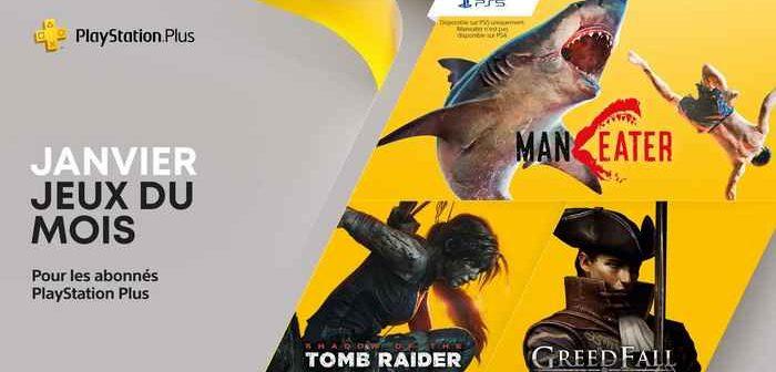 PlayStation Plus les jeux gratuits de janvier 2021 !