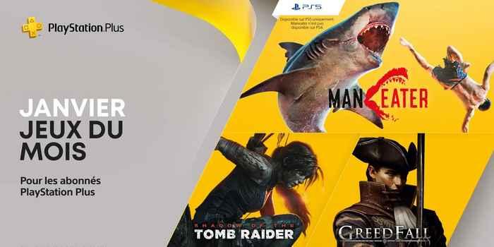 PlayStation Plus : les jeux gratuits de janvier 2021 !