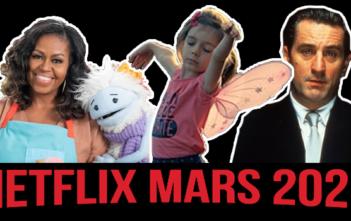 Netflix : ce qui nous attend en mars 2021