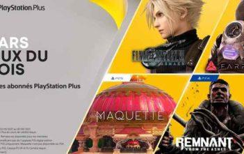 PlayStation Plus, les jeux gratuits de mars 2021 !