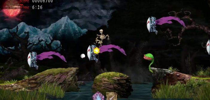 Test Ghosts'n Goblins Resurrection, retour d'enfer d'Arthur !