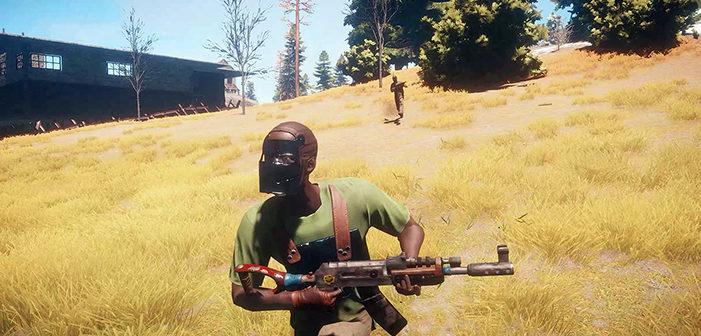 RUST sur console, on a du gameplay