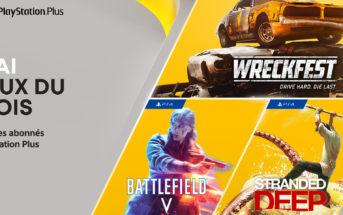 PlayStation Plus, les jeux gratuits de mai 2021 !