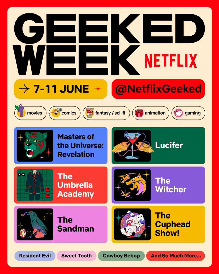 Geeked Week : Netflix lance son évènement virtuel