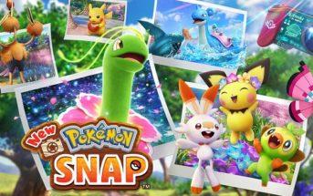 Test New Pokémon Snap, juste une photo de toi