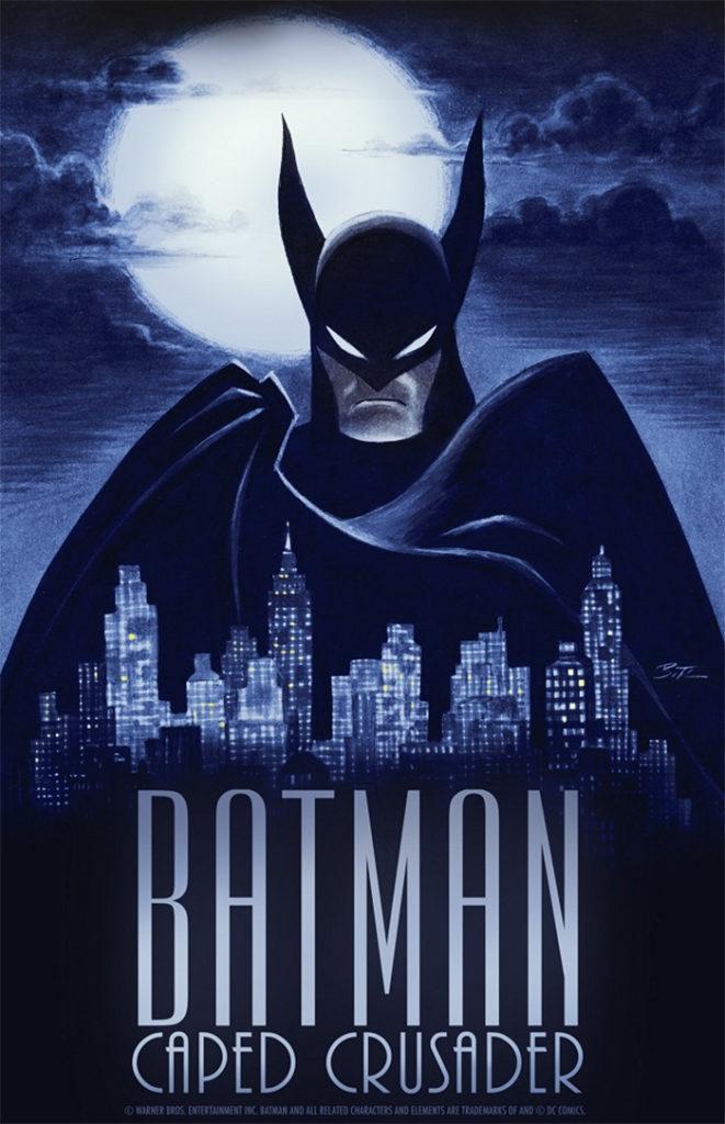 Bruce Timm back to black avec Batman Caped Crusader
