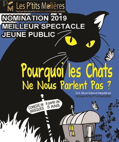 Avignon 2021 – Pourquoi les chats ne nous parlent pas