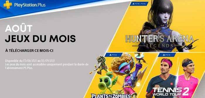 Les jeux PlayStation Plus d'août 2021