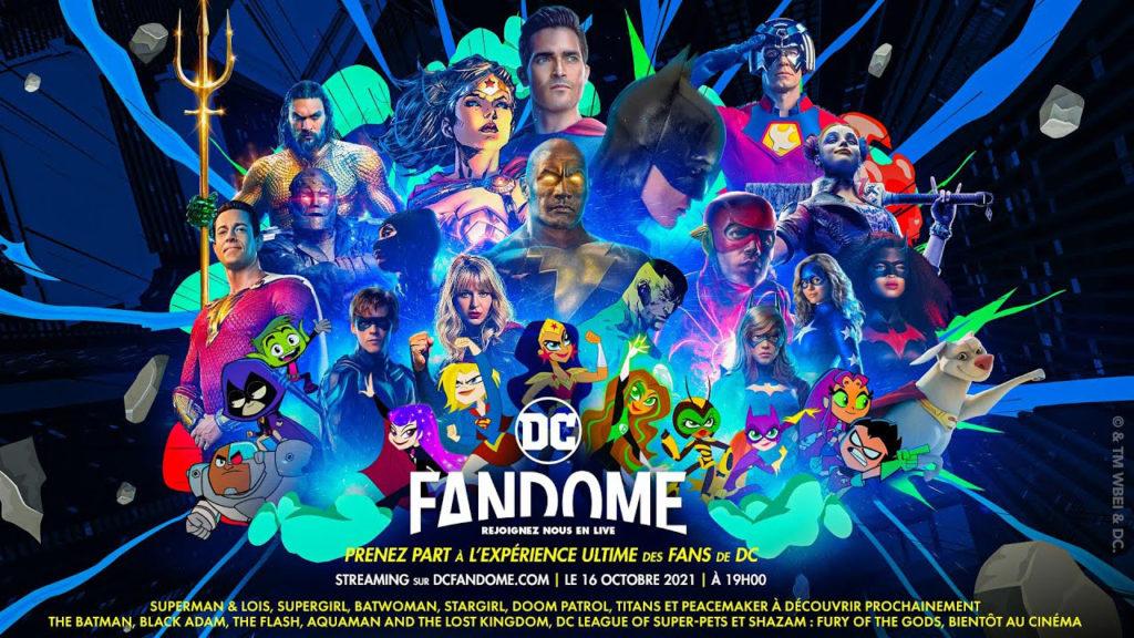 DC Fandome : Batman, The Flash, Black Adam & Cie montreront leur nez