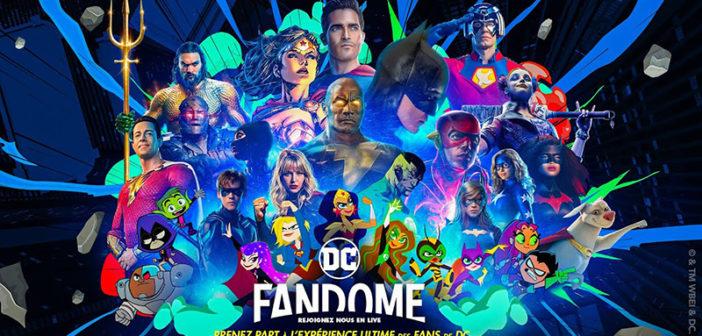 DC Fandome 2021 : le programme avec Batman, The Flash, Black Adam & Cie