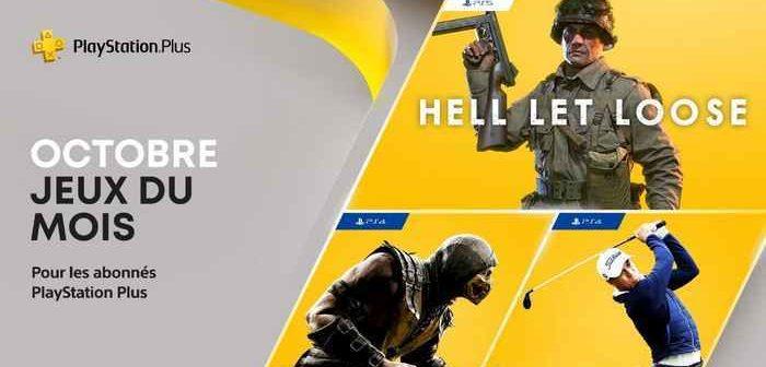 Les jeux PlayStation Plus du mois d'octobre 2021